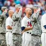 Braves Military Salute