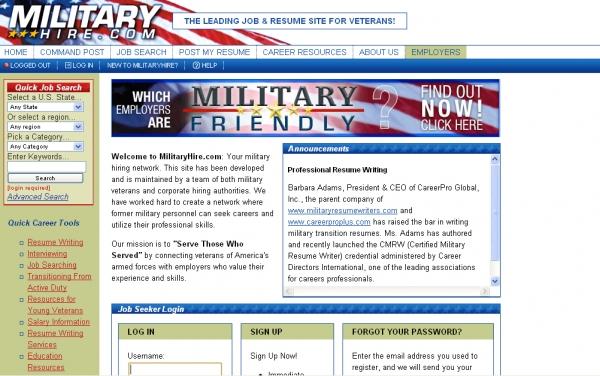 MilitaryHire.com
